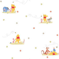 Winnie The Pooh Curtains For Nursery by Graham Brown Winnie Pooh Rise Shine Wallpaper Projects To Try