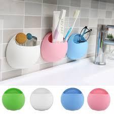 cute eggs design toothbrush holder suction hooks cups organizer