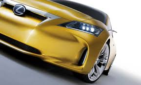 lexus hatchback 2009 lexus lf ch hatchback concept fully revealed updated gallery with
