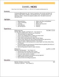 billing and coding resume exles for the objective