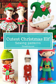sewing patterns christmas elf 9 cutest christmas elf sewing patterns elves sewing patterns and