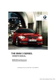 bmw 3 series coupe 2013 e92 owner u0027s manual