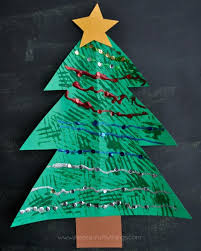 Arts And Crafts Christmas Tree - christmas tree fork painted craft i heart crafty things