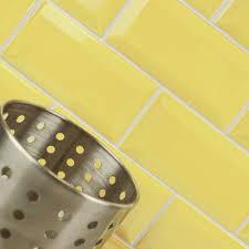 aldgate yellow tiles mini metro 150x75 tiles 150x75x7mm tiles