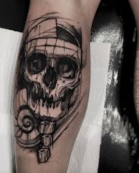 the coolest skull tattoos you ll see 50 photos tattooblend