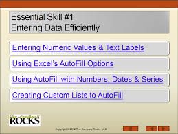 keyboard shortcuts in excel the company rocks