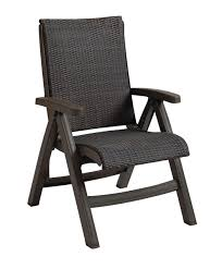 Patio Folding Chair Lovely Folding Patio Chairs Java All Weather Wicker Resin Folding