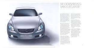 lexus sc430 2006 lexus sc 430 brochure