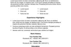 examples of really good resumes resume example and free resume maker