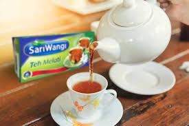 Teh Melati sariwangi teh melati nikmatnya teh dari jawa dengan 4 manfaat