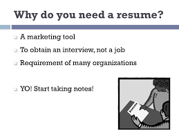 do you need a resume resume writing 101 utc career u0026 student employment ppt download