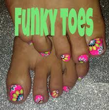 best 25 neon toe nails ideas on pinterest bright toe nails