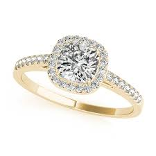 yellow gold diamond rings yellow gold engagement rings 14k 18k diamonds cz