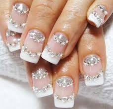 14 glitter acrylic nail designs for stylish looks beufl nails