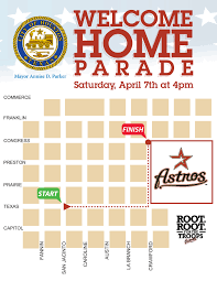 Downtown Houston Map Welcome Home Parade For Returning Iraq Veterans U2013 Downtown Houston