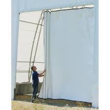 7 5 oz custom tarps draw curtain fabric room divider farmtek Fabric Room Divider
