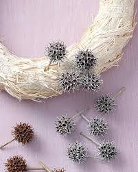 sweetgum fruit wreath martha stewart