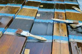 Wood Stains Deck Stains Finishes From World Of Stains by The Great Stain Shoot Out Professional Deck Builder Finishes