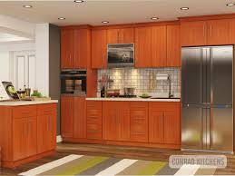 Natural Cherry Shaker Kitchen Cabinets Conrad Kitchens Wholesale Price For High Quality Kitchen Cabinets