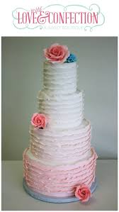 peach ombre wedding cake ruffles and roses peach ombre wedding cake but veronica arthur