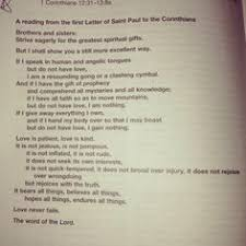 catholic wedding readings catholic wedding readings from the rite of marriage below you will