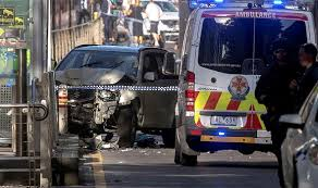 melbourne terror suv ploughs into crowd police confirm