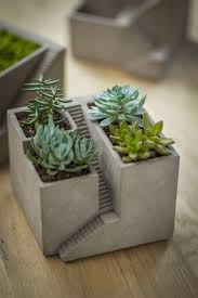Plants And Planters by 32 Uniquely Beautiful Concrete Planters
