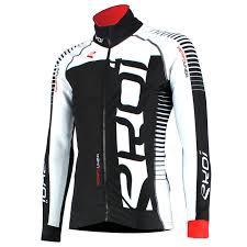cycling jacket ekoi perfolinea black white thermal cycling jacket ekoi