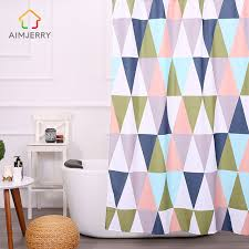 Western Bathroom Shower Curtains Aimjerry 71 71 Colorful Western Waterproof Bathroom Products Clear