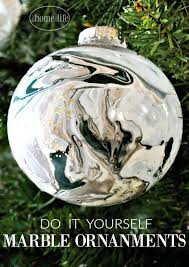 diy marble ornaments home