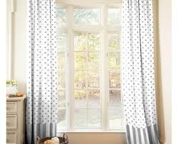 curtains wonderful grey and white nursery curtains wonderful