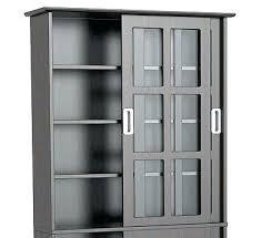 Cd Storage Cabinet With Glass Doors Cd Storage Cabinet With Doors Media Storage For Furniture Allegro