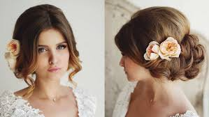 26 beautiful wedding hairstyles for bridal youtube