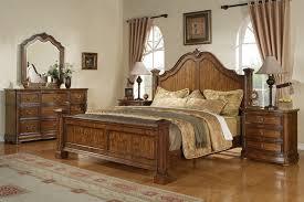 honey oak bedroom furniture elegant brown polished cheery wood
