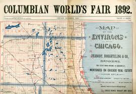 West Chicago Map by Chicago Railroads And The World U0027s Columbian Exposition