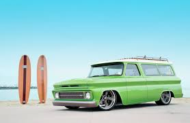 first chevy suburban 1966 chevrolet suburban lime crush