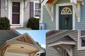 Cheap Exterior Door Front Door Awnings Wood Popular Cheap Exterior Doors Intended For