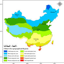china on a map locations of observation overlaid on a map of china s