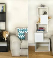designer cat tree house a modern and climbing shelves from pet
