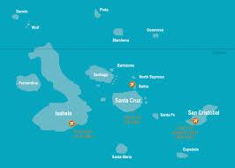 Galapagos Map Galapagos Islands Island Escapes