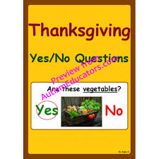 no questions thanksgiving