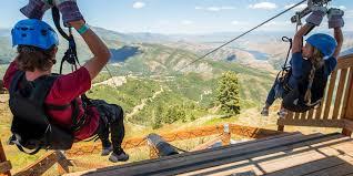 full moon ziptour sundance mountain resort