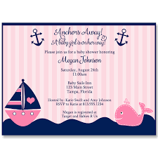 whale baby shower invitations anchors away pink whale baby shower invitation the invite