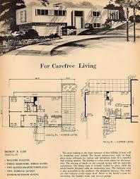Mid Century Modern House Plan 84 Best Mid Century Modern Floor Plans Images On Pinterest