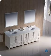 84 Double Sink Bathroom Vanity by Fresca Fvn20 361236aw Oxford 84