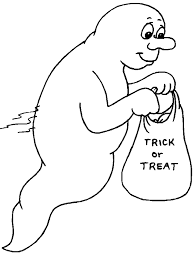 ghost4 halloween coloring pages u0026 coloring book