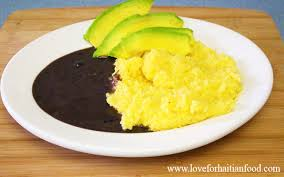 cuisine polenta mayi moulen cornmeal polenta for haitian food