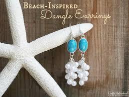 earrings diy dangle earrings diy inspired crafts unleashed