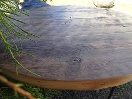 dining table 60 inches long antique barnwood round dining table 60 inches 5 7 person mt