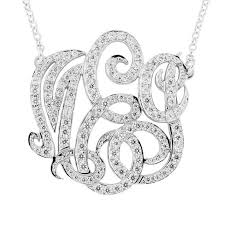 Three Initial Monogram Necklace 37 Best Fashion Images On Pinterest
